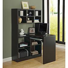 Small Corner Desks Taupe Reclaimed Look Left Right Facing Corner Desk Free