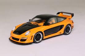 matchbox porsche 911 gt3 spark porsche gemballa avalanche gt2 600 evo orange black