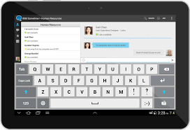 chat apps for android ibm developerworks lotus inside mobile design and user experience