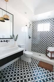 modern bathroom shower retro 60s decor contemporary vintage