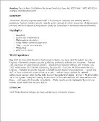 It Security Analyst Resume Sample by Sample Resume For Information Security Administrator