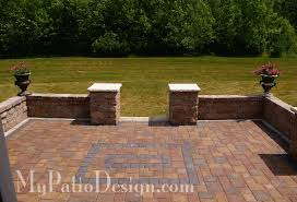 Symmetrical Seat Wall Ideas  Slate Patios Pinterest Wall - Patio wall design