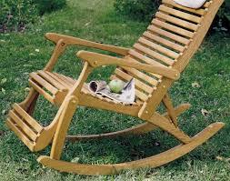rocking recliner garden chair oak rocker recliner