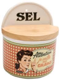 Boite A Sucre Vintage Pots Et Boîtes A épices 4 Provence Arômes Tendance Sud