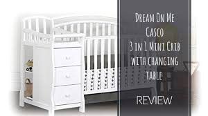 mini crib and changing table baby s little place best cribs for yor baby
