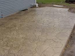 Patio Pavers Cost by Stone Texture Stamped Concrete Patio Pavers Vs Concrete