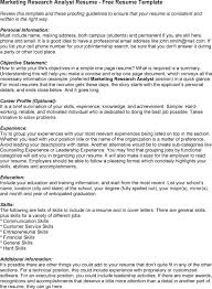 Best Financial Analyst Resume by Marketing Analyst Resume Examples Essaymafia Com