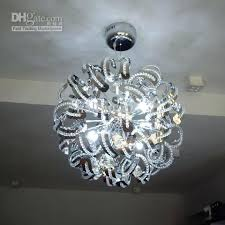 Sphere Chandelier With Crystals Sphere Shaped Chandeliers Industrial Mottled Rust Led Chandelier