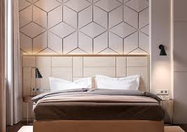 beautiful bedrooms with creative accent wall ideas looks stylish geometric bedroom headboard accent wall