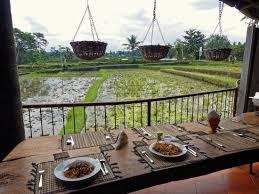 cours de cuisine sur vue sur la rizière du cours de cuisine picture of pariliana