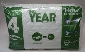 Hollander Live Comfortably Pillows Hollander This Year Superside Extra Firm Jumbo Standard Pillow
