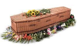 wicker casket fe harris