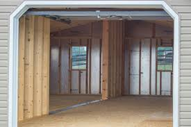 2 Car Garages by 24x30 Vinyl Modular 2 Car Garage Byler Barns