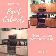 kitchen cabinets or not how to paint cabinets not just for your kitchen cribbs style