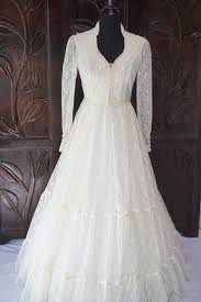 vintage ivory gunne sax mcclintock wedding dress size 9