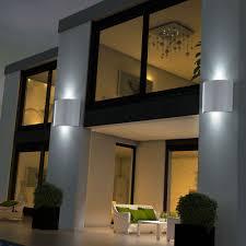 aussenleuchten design details zu 2er set led außen wand len ip44 terrasse leuchten up