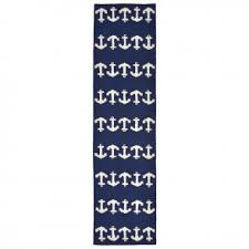 Navy Runner Rug Rugs Home Accessories Furniture Reproductions Coastal