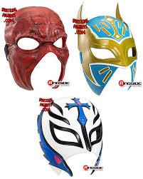Sin Halloween Costume Package Deal Wwe Toy Masks Kane Rey Mysterio U0026 Sin