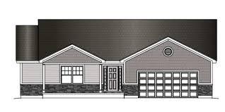 split floor plan property features harlow builders inc