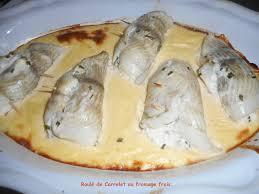 comment cuisiner le carrelet roulé de carrelet au fromage frais mes recettes et photos de gâteaux