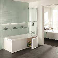 Open Bathroom Design by Bathroom Interesting P Shaped Shower Bath Designs Sheirma Home
