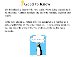the distributive property core focus on introductory algebra