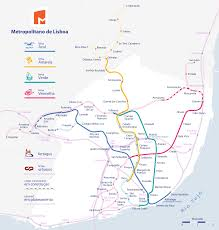 Santiago Metro Map by Lisbon Metro Map Portugal