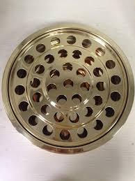 communion plates dinner dishes plates brasstone stainless steel communiion tray set