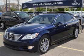 pre owned cars lexus pre owned 2010 lexus ls 460 l 4d sedan in murray 17285a mike