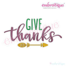 other categories all products give thanks script with arrow