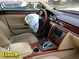 volkswagen phaeton interior interior crem vw phaeton 219259