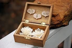 wedding box rustic wedding sola flower ring box rustic wedding