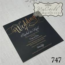 black and gold wedding invitations black and gold wedding invitation square design 747