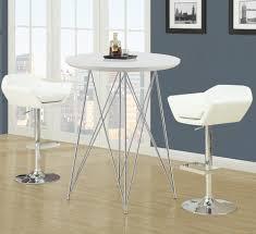White Pub Table Set - nice white pub table set for living room decor home ideas along