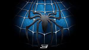 black spiderman logo wallpaper