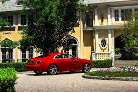 roll royce red the rolls royce wraith st james edition