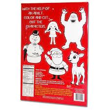 rudolph red nosed reindeer advent calendar 38252392222