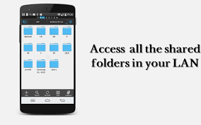 wirelessly open and transfer files from your pc on android over