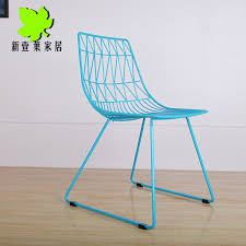 Metal Outdoor Dining Chairs Special Ikea Wire Metal Mesh Outdoor Dining Chair Leisure Chair