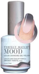 lechat pefect match mood polish smokey haute swatch by