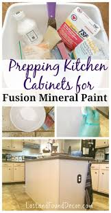 how to prep cabinets for painting prep 101 how to prep kitchen cabinets for fusion mineral paint
