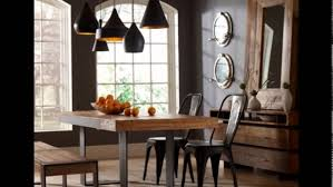 dining room table lighting peaceful dining room with farmhouse furniture and industrial