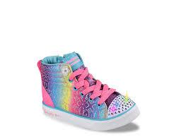 rainbow light up shoes skechers twinkle toes twinkle breeze 2 0 rainbow glitz