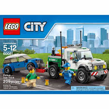 Tow Truck Business Cards Lego City Great Vehicles Pickup Tow Truck Walmart Com