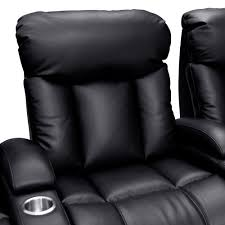 home theater chair seatcraft sausalito leather gel home theater seating power row of