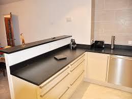 plan de travail cuisine noir plans de travail pour cuisine et salle de bains silgranit33