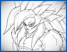 imagenes de goku para dibujar faciles con color dibujos de goku para colorear fase 4 archivos dibujos de dragon ball z