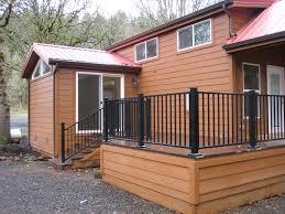 tiny house deck conkraft construction