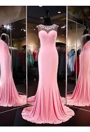2016 long mermaid beaded prom dresses for teens sheath beautiful