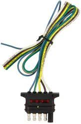 trailer connectors 5 flat wiring etrailer com